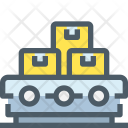 Conveyor Robot Parcel Icon