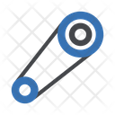 Gear Processing Machine Icon