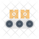 Conveyor Belt Boxes Icon
