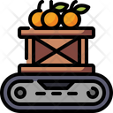 Box Conveyor Fruit Icon