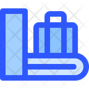 Airport Flight Conveyor Icon