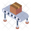 Conveyor Pallet Logistics Assembly Line Icon