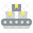 Conveyor Machine Manufacturing Icon