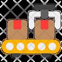 Conveyor Package Belt Icon