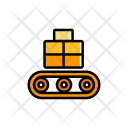 Conveyor Parcel Box Icon