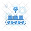 Conveyor Automation Conveyor Belt Pallet Logistics Icon