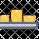 Conveyor Box Delivery Icon