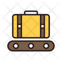 Conveyor Belt Bag Luggage Icon