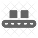 Conveyor Factory Manufacturing Icon