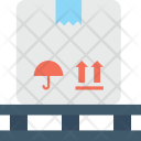 Logistic Package Distribution Icon