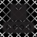 Conveyor Belt Manufacturing Icon
