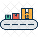 Conveyor Belt Logistic Icon