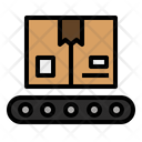 Conveyor Package Delivery Icon