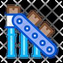 Manufacturing Conveyor Belt Icon