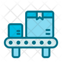 Conveyor Belt Truck Delivery Icon