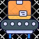 Conveyor Belt Conveyor Box Icon