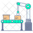 Production Conveyor Conveyor Belt Transporter Belt Icon