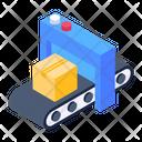 Conveyor Belt Pallet Logistics Assembly Line Icon