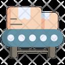 Conveyor Belt Industry Factory Icon