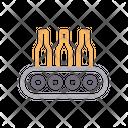 Conveyor Bottle Icon