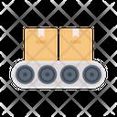 Conveyor Packaging Parcel Icon