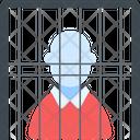 Convict Jail Prison Icon