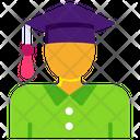 Scholarship Convocation Cap Mortarboard Icon