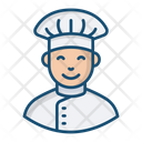 Chef Cook Food Preparer Icon
