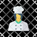 Cook Female Femalechef Icon