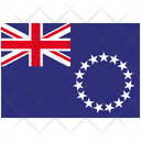 Flag Country Cook Islands Icon