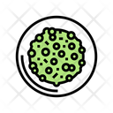 Cooked Peas Dish Icon