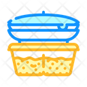 Cooked Food Canteen Icon