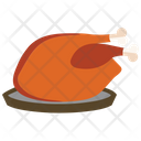 Cooked chicken Icon