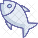 Cooked Fish Fish Food Icon