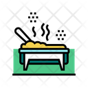 Cooked Meal Catering Icon