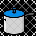 Kitchen Cooking Pot Icon