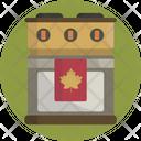 Thanksgiving Cooker Kitchen Icon