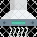 Cooker Hood Exhaust Icon