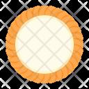 Cream Cheese Cracker Icon