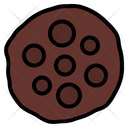 Cookie Chips Choco Icon
