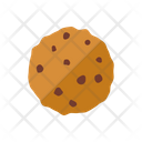 Cookie Cake Chocolate Chip Icon