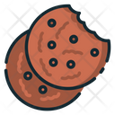 Cookie Biscuit Chocolate Chip Icon