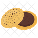 Sandwich Dessert Chocolate Icon
