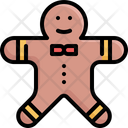 Cookie Gingerbread Biscuit Icon