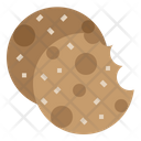 Chip Chocolate Chocolate Chip Cookie Icon