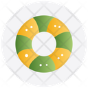 Christmas Cookie Donut Icon