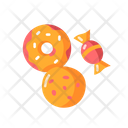 Cookie And Candy Icon