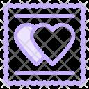 Cookies Love Heart Icon