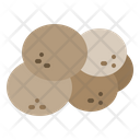 Cookies Biscuits Bakery Item Icon
