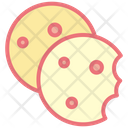 Cookies Biscuit Chocolate Chip Icon